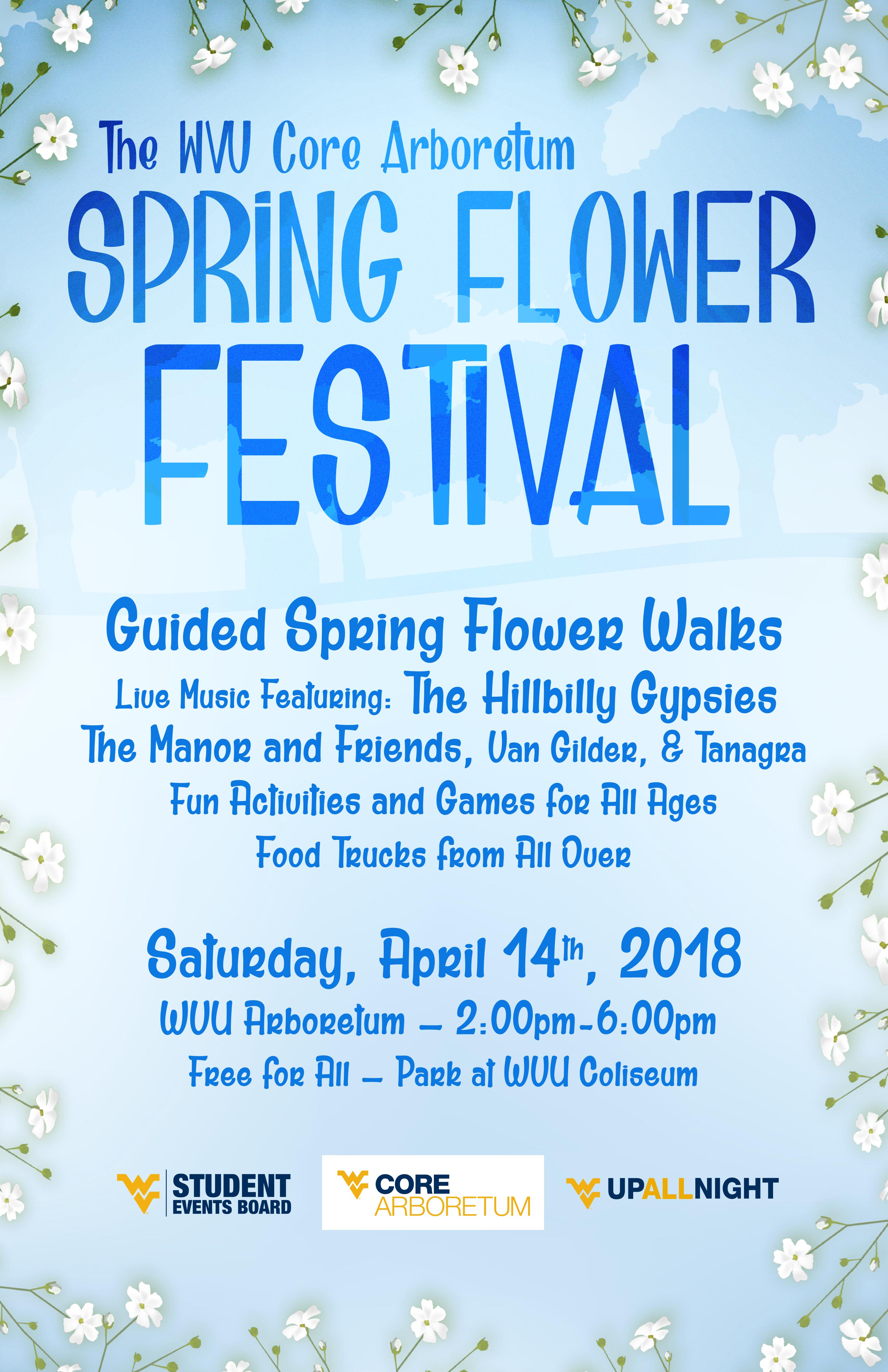 Spring Flower Festival Core Arboretum West Virginia University